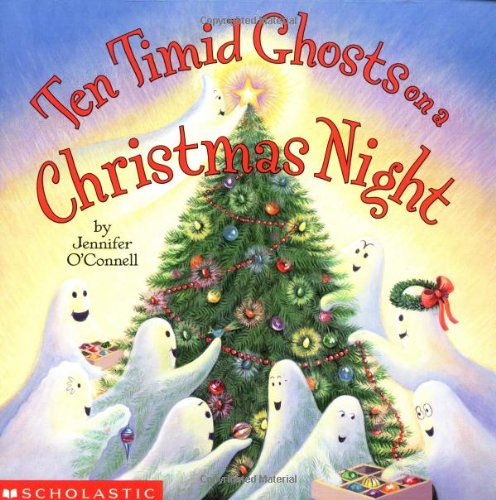 Ten Timid Ghosts on a Christmas Night (Read With Me)