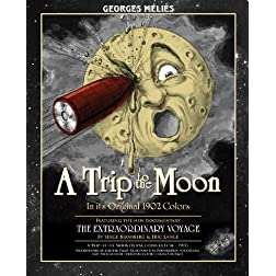A Trip To The Moon &amp; The Extraordinary Voyage Deluxe Combo Blu-Ray DVD Edition