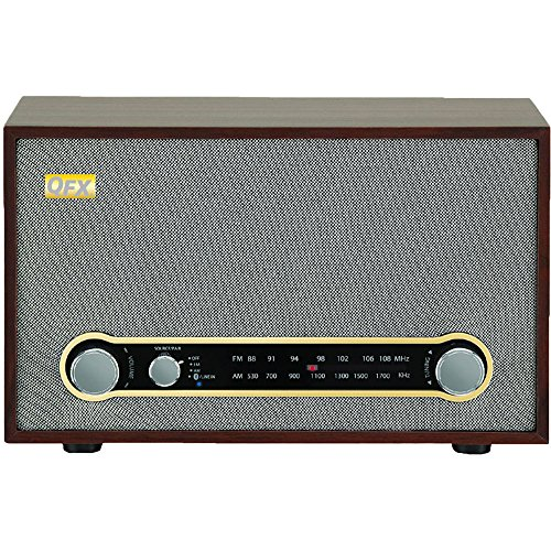 QFX RETRO-100 Retro Collection Bluetooth AM/FM Radio