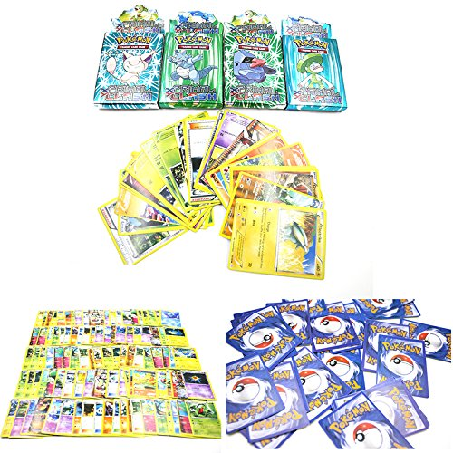 leading-star 25 Assorted Trading Cards for POKEMON XY Cards