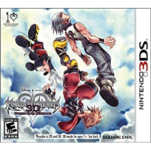 Kingdom Hearts 3D Dream Drop Distance Nintendo 3DS Game