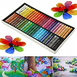 50 Colors Crayon Non-toxic Oil Pastels Drawing Pens Artists Mechanical Drawing Paint 50 Colors Crayon Non-toxic Oil Pastels Drawing Pens Artists Mechanical Drawing Paint . . . Color 50 c