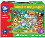 Who's In The Jungle 25 Piece Puzzle by Orchard Toys