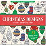 Christmas Designs Adult Coloring Book...