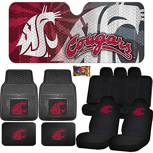 Car Seat Covers Washington State Cougars