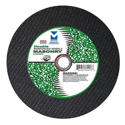 61B57Mce52L Cheap Mercer Abrasives 600030 10 Portable/Hand Held Circular Saw Wheels, Double Reinforced 8 Inch by 1/8 Inch by Diameter 5/8 Inch, 10 Pack