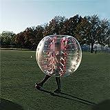 AmazingsportsTM Bubble Soccer Balls Suit Cheap dia 5' 1.5m Bubble Football Ball Suit For Adults Red PVC Bumper Balls(1.2m 1.7m available)