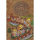 Original Miniatures Art India Folk Paintings Drawings ~ ShalinIndia