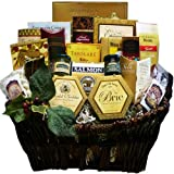 Art of Appreciation Gift Baskets   Pick of the Season Gourmet Food Basket with Smoked Salmon