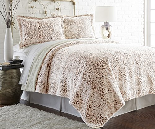 Why Should You Buy Faux fur/Sherpa 3 piece comforter set Dust King