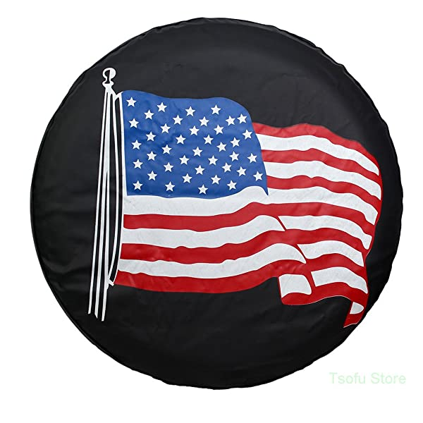15 For Diameter 27-29 Spare Tire Cover PVC Leather WaterProof Dust-Proof Universal Spare Wheel Tire Cover Fit For Compatible Honda CRV 15