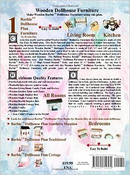 barbie dollhouse plan furniture dennis day 9781435714564