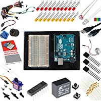 Arduino Uno 3 Ultimate Starter Kit Includes Step by Step instruction guide
