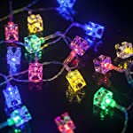 M&T TECH 30 LED Icicle Cube Lights Ba...