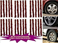 Generic (unbranded) Tubeless Tyre Puncture Repair Strip (30 pieces)