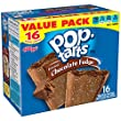 Pop-Tarts, Frosted Chocolate Fudge, 16-Count Tarts (Pack of 8)