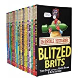 Horrible Histories Collection 20 Books Set Pack RRP: �120.00 (Savage Stone Age, Awesome Egyptians, Groovy Greeks, Rotten Romans, Cut-Throat Celts, Smashing Saxons, Vicious Vikings, Stormin Normans , Angry Aztecs, Incredible Incas, Measly Middle Age.) (Horrible Histories Collection)by Terry Deary