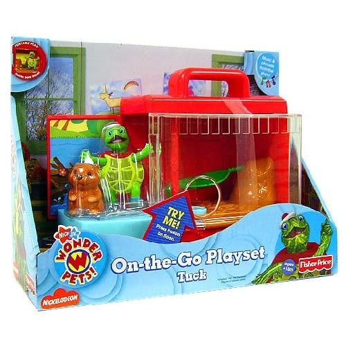 Amazon.com: Fisher-Price Wonder Pets Portable Playsets Tuck