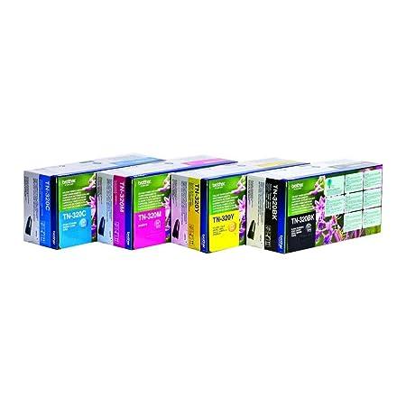 Brother TN320 Cartridge Multicolore Multipack