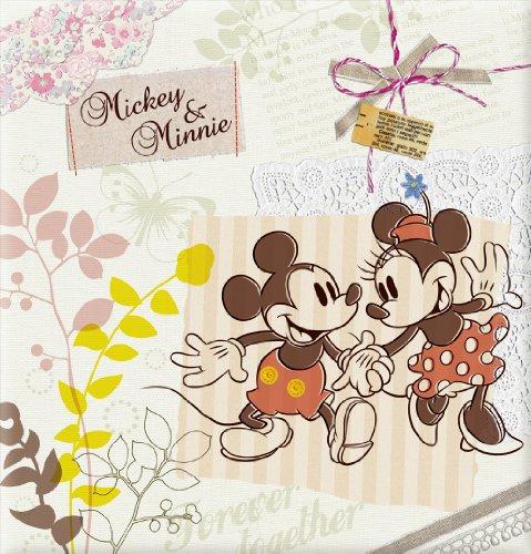 ナカバヤシ フエルアルバム ディズニーシリーズ Lサイズ 100年台紙 ミッキー&ミニー