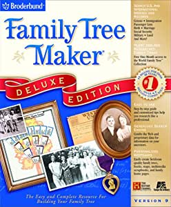 Family Tree Maker 9.0 Deluxe