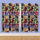 Disney 54-inch Marvel Avengers Team Curtains, Multi-Colour