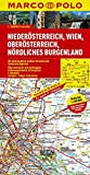 MARCO POLO Karte Niederösterreich, Wien, Oberösterreich, Nördliches Burgenland 1:200.000 (MARCO POLO Karte 1:200000)