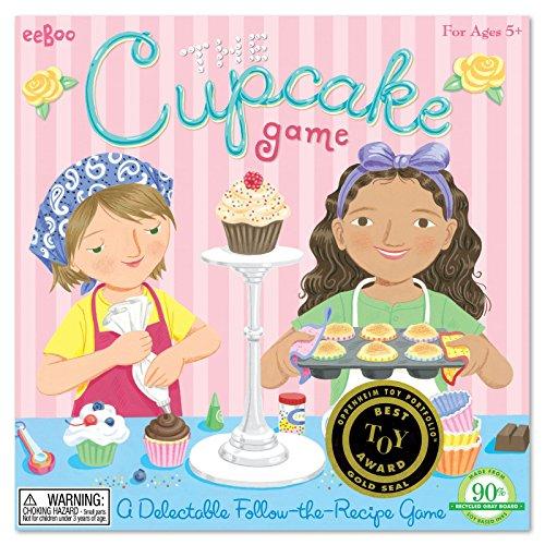 eeBoo The Cupcake Spinning Game