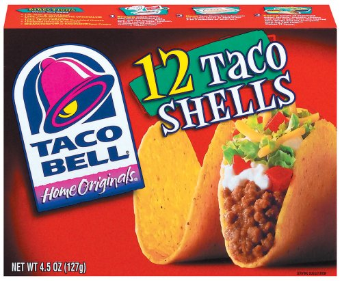 Taco Bell Home Originals Components Taco Shells 12 Ct 4.5-ozTaco Bell Home Originals Components Taco Shells 12 Ct 4.5-oz