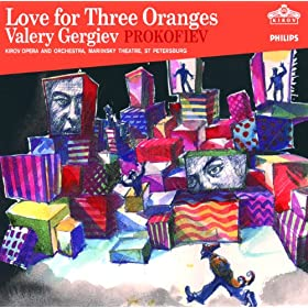 Prokofiev: Love for Three Oranges (2 CDs)