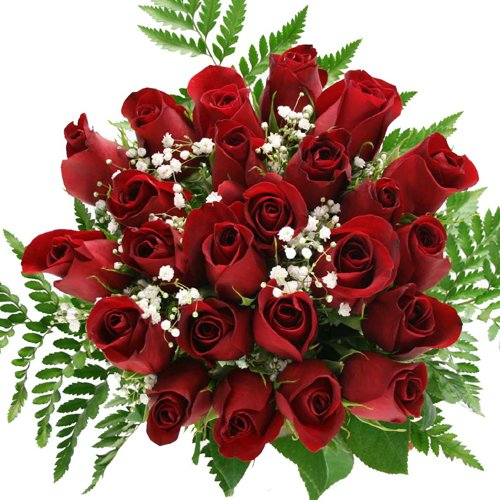 24 Stems Red Roses