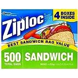 Ziploc Sandwich Bags, 125 Count (Pack of 8)