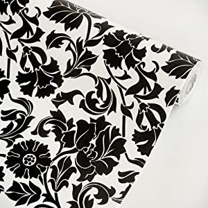 Black Temptation Self Adhesive Wallpaper Home Decor Roll
