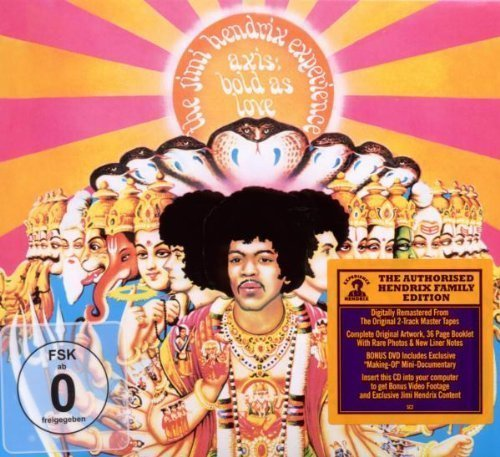 Axis Bold As Love CD/DVD by Jimi Hendrix (2010) Audio CD (1212-05-04)