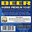 5 x Premium Beer Yeast sachets for homebrew