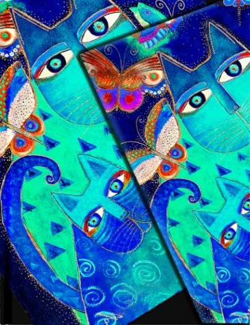 Blue Cats & Butterflies (Paperblanks: Fantastic Felines)