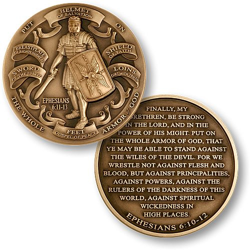 Armor of God High Relief Coin