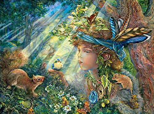 Buffalo Games Nature Boy (Glitter Edition) by Josephine Wall Jigsaw Puzzle (1000 Piece) (Nature Puzzle 1000 compare prices)