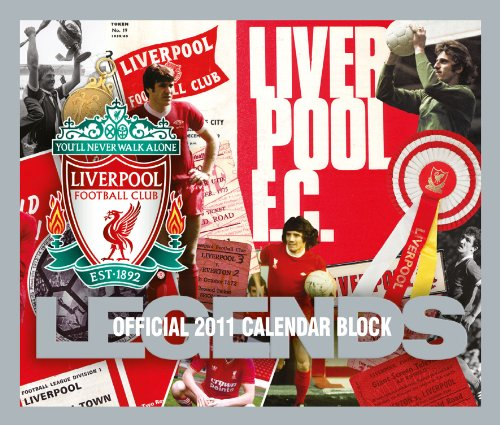 Official Liverpool FC 2011 Block Calendar