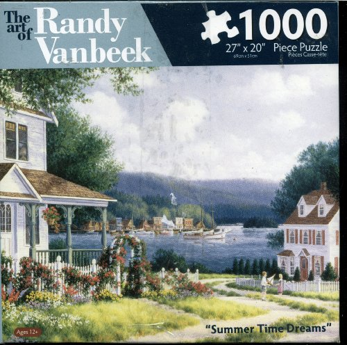 The Art of Randy Vanbeek - Summer Time Dreams - 1000 Piece Puzzle
