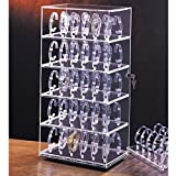 Rotating Watch Stand Holds 60 Watches Measures 12