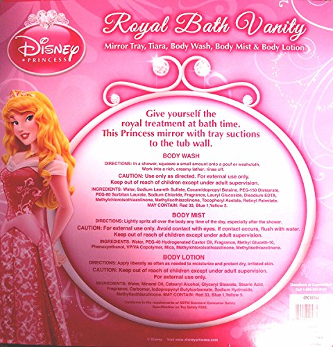 Disney Princess Royal Bath Vanity Gift Set, 5 pc - 1