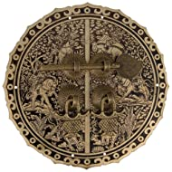 Six Horses Cabinet Face Plate 5-1/2''