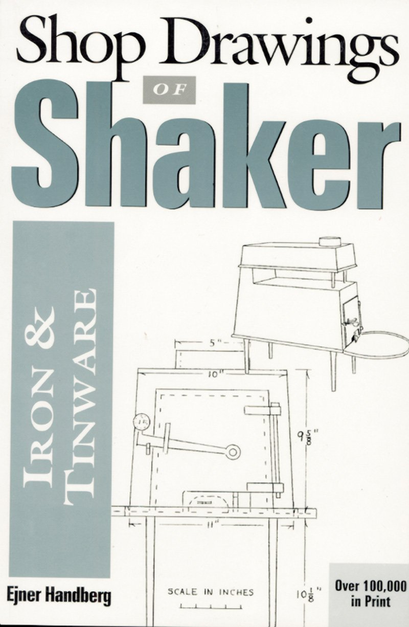 Furniture Shop Drawings Shop Drawings of Shaker Iron