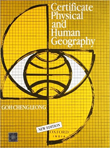 Certificate Physical and Human Geography Book Cover