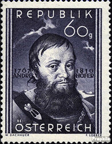 austria-949-completeissue-1950-andreas-hofer-stamps-for-collectors