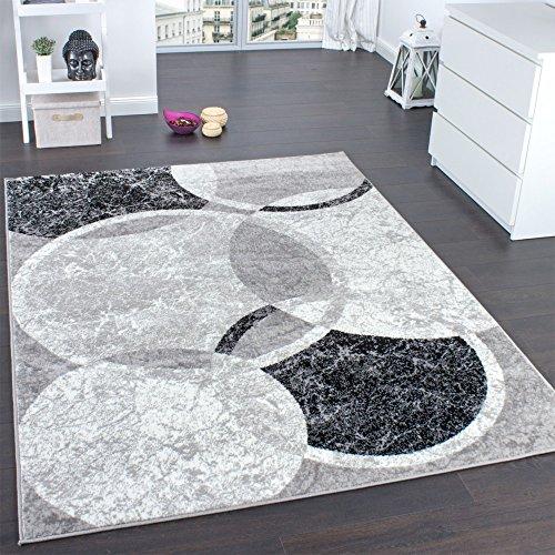 tapis-de-createur-contemporain-avec-cercles-marbre-en-gris-noir-creme-dimension120x170-cm
