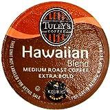Keurig, Tully's Hawaiian Blend, Medium Roast Coffee Extra Bold 24 K-Cup Single Serve Packs