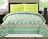 RAMPAGE 4-Piece Comforter Set, Twin, Tilework