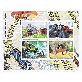 Hoja Miniatura de Estampillas de 'Thomas the Tank Engine' 2011